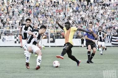 El Sant Andreu no pudo pasar la eliminatoria ante el histórico Castellón | Foto: Tomás Rubia - VAVEL