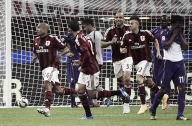 Live Fiorentina - Milan in risultato partita Serie A(2-1)