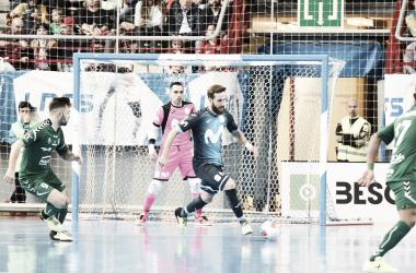 Pola marcó uno de los goles de la jornada 11. | Foto vía: www.lnfs.es