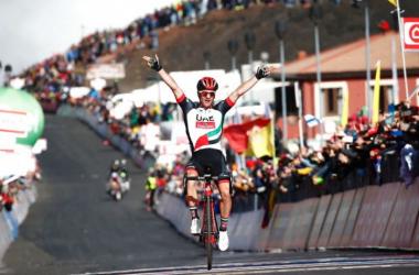 É a segunda vitória da carreira de Polanc na Volta a Itália // Fonte: Luk Benies