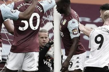 Premier League admite falha na tecnologia da linha do gol no jogo entre Aston Villa e Sheffield United