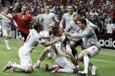 A caminho do euro: a seleção polaca (Foto: Uefa.com/uefaeuro)