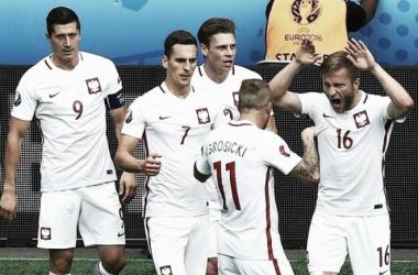 A Polónia só venceu nas grandes penalidades | Foto: Facebook UEFA euro 2016
