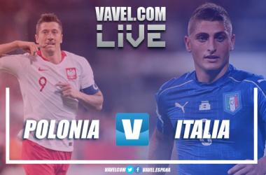 Polonia e Italia se miden por no bajar de categoría en la UEFA Nations League.   Imagen: VAVEL