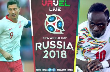 Risultato Polonia-Senegal in diretta, LIVE Mondiali Russia 2018 - Gueye, Niang, Krychowiak! (1-2)