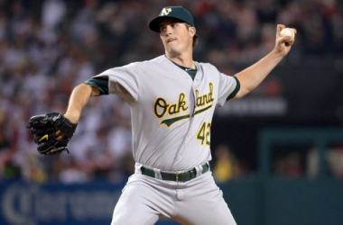 Drew Pomeranz broke his left hand punching a chair after his outing vs. the Rangers and will miss some time (Kirby Lee, USA Today Sports)