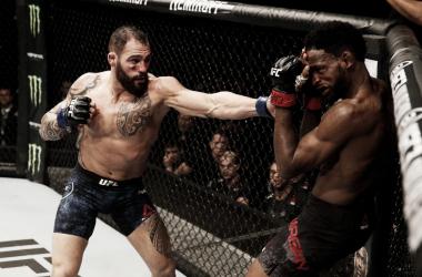 Ponzinibbio fue muy superior a Magny y espera una gran pelea para 2019 (Foto: UFC)