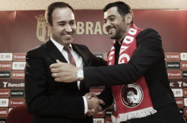O divórcio entre António Salvador e Sérgio Conceição deverá ser oficializado a qualquer momento. (FOTO: OJOGO)