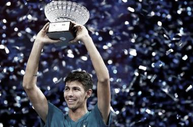 El australiano es el segundo jugador que logra ganar su primer título en el 2021. Foto: ATP