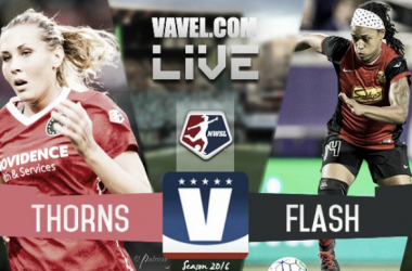 The Portland Thorns and the Western New York Flash face off in the second NWSL Playoff semi-final.