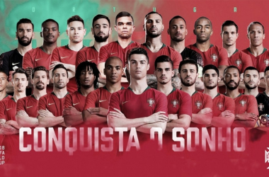 Portugal y Marruecos presentan su lista de convocados