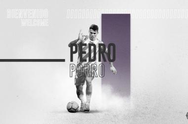 Pedro Porro llega al Valladolid cedido por el Manchester City