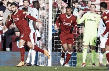 Emre Can fue uno de los protagonistas del partido. Foto: Liverpool.