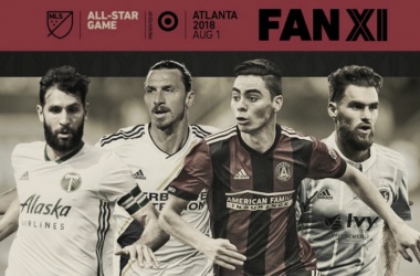 Once Titular MLS All-Star 2018
