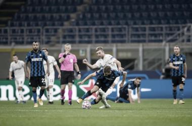 Internazionale rescata un punto sobre la hora contra Borussia Mönchengladbach