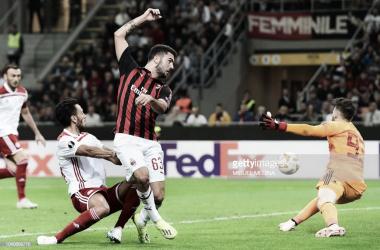 El Milan salva la papeleta en la segubda parte/ Foto: gettyimages