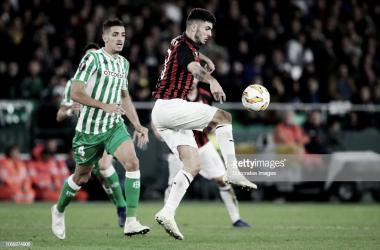 El Milan salva un punto casi inmerecido / Foto: gettyimages