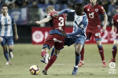 Koné, en un partido de esta temporada <vía LaLiga.es>