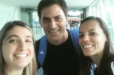 Laura Fortunato, Mauro Vigliano y Mariana de Almedida | Fuente: Instagram personal de Fortunato