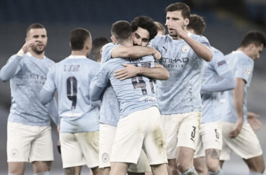 Manchester City saca ventaja en la ida | Foto: @ManCityES