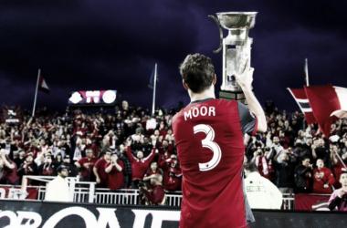 Moor levanta la Trillium Cup || Imagen: @TorontoFC