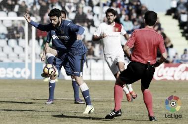 Jorge Molina rescata un punto ante un combativo Mallorca