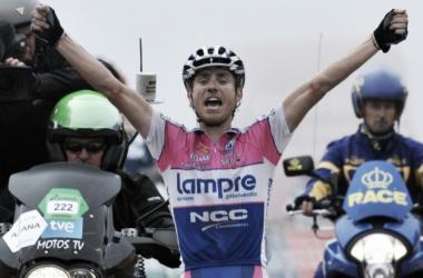 Victoria de Cunego en la Vuelta a España 2009 / Fuente: damianocunego.it