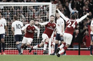 Resumen Tottenham 1-0 Arsenal en Premier League 2018