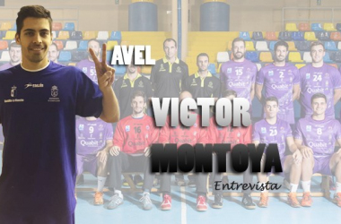 """Entrevista. Víctor Montoya: """"Cuando estoy haciendo balonmano no pienso en nada más"""""""