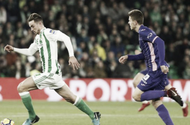 Partido de ida entre el Real Betis y el Leganés | Foto: La Liga