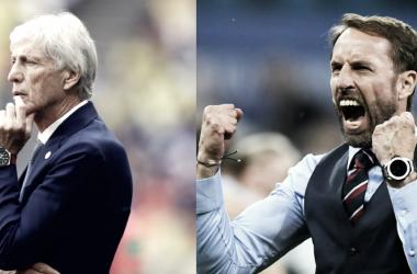 José Pekerman y Gareth Southgate, un duelo impresionante | Foto: FIFA