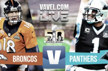 Super Bowl 2016 Carolina Panthers - Denver Broncos Result and Score (24-10)