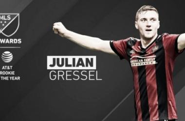Julian Gressel, MLS Rookie del Año 2017