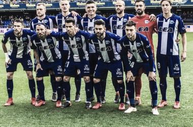 El Alavés lleva ocho partidos seguidos viendo puerta
