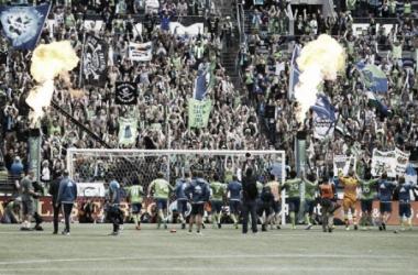 Seattle Sounders celebra una importante victoria || Imagen: usatoday.com