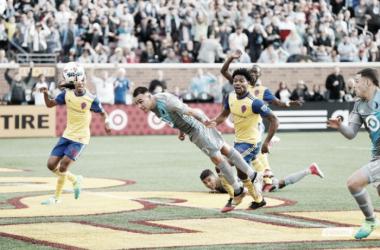 Batman vuela para dar a victoria a los 'loons' || Imagen: @MNUFC