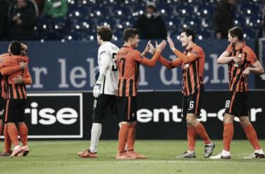 Los brasileños destrozan las esperanzas alemanas    Imagen: uefa.com