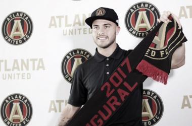 Villaba presentado por Atlanta United || Imagen: dirtysouthsoccer.com