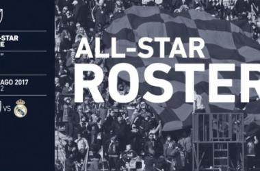 'Los hombres de Paunovic' para el MLS All-Star 2017 || Imagen: mlssoccer.com