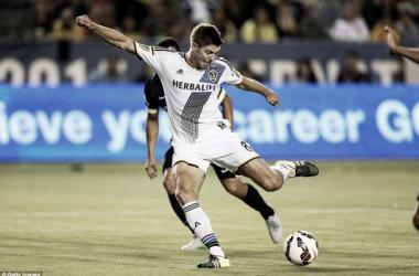 Steven Gerrard en su debut con Los Angeles Galaxy || Imagen: dailymail.co.uk
