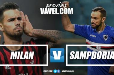 Previa AC Milan - UC Sampdoria: lucha por entrar en Europa
