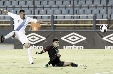 Guatemala se llevó el primer encuentro del doble enfrentamiento || Imagen: concacaf.com