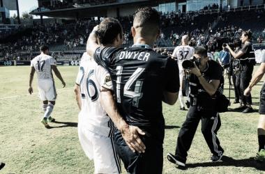 Dos grandes goleadores || Imagen: @MLS