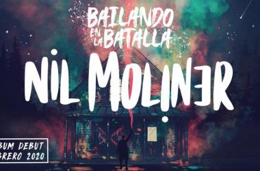 Portada de su álbum debut: 'Bailando en la batalla'. Fuente: Ticketmaster