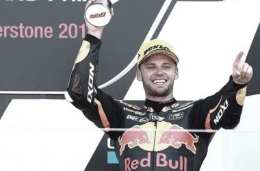 """Binder: """"Pilotar la KTM es brutal, la diferencia es increíble"""""""