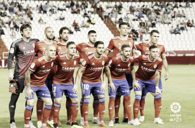 XI titular en el Albacete - Zaragoza. Foto tomada de laliga.es