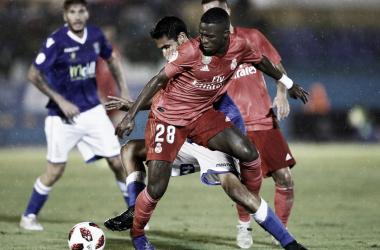 Vinicius fue el jugador que mejor sensaciones dejó/ Foto: Real Madrid