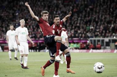 Ni Müller ni Wagner tuvieron su mejor jornada | Foto: @FCBayern_Es