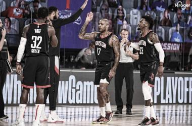 Crónica NBA: Houston y Harden golpean primero