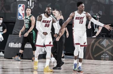 La defensa de los Heat se lleva la primera victoria de las Finales